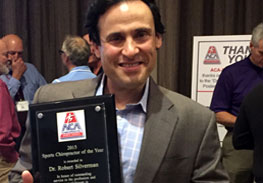 Top Sports Chiropractor, national award